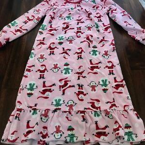 Girls fleece night gown size 6/7
